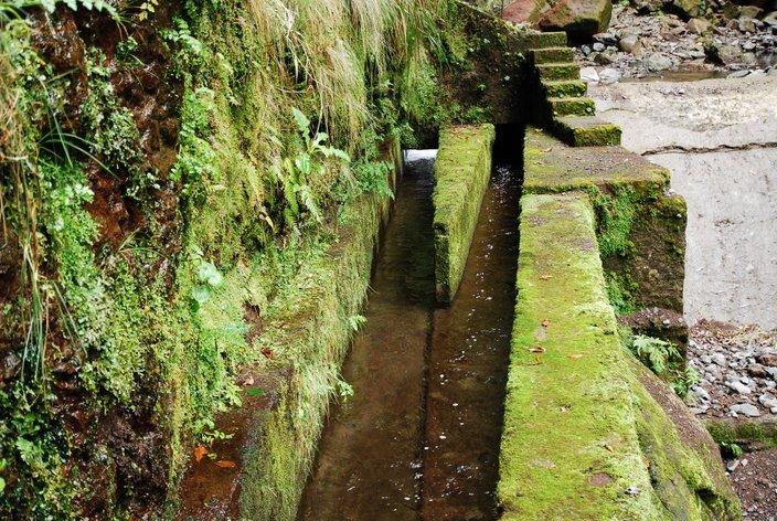 kanały nawadniające madera